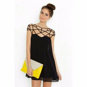 Keepsake the Label Dare You Black Slip Dress